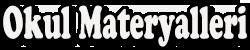 Okul Materyalleri Logo